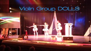 Скрипичное шоу Violin Group DOLLS - Pink Pantere