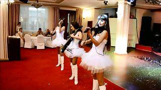 Инструментальное шоу DOLLS - электро скрипачки и виолончель