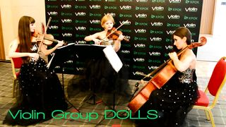 "Adele ""Skyfall"" - Violin Group DOLLS (скрипки и виолончель)"