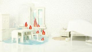Белки на Акации - Гори огнём