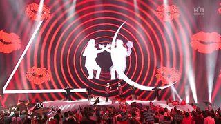 Евровидение 2011 - Ирландия - Jedward - Lipstick