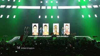 Евровидение 2011 - Великобритания - Blue - I Can