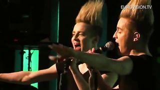 Jedward - Waterline (Ирландия - Евровидение 2012)