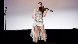 Скрипка электро. Инструментальное танцевальное шоу