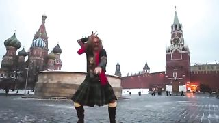 Опа Джигурда на Красной Площади